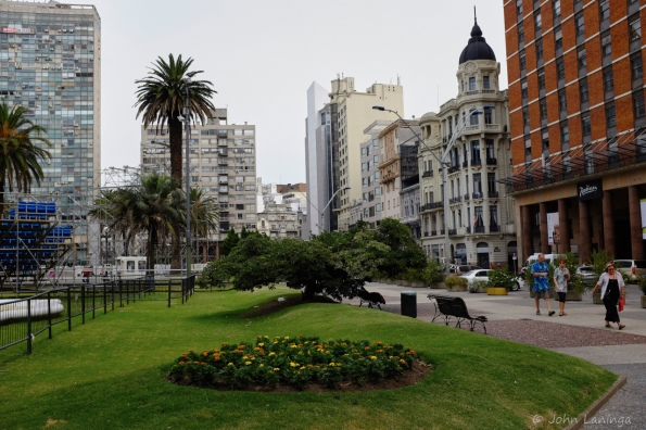 Downtown Montevideo