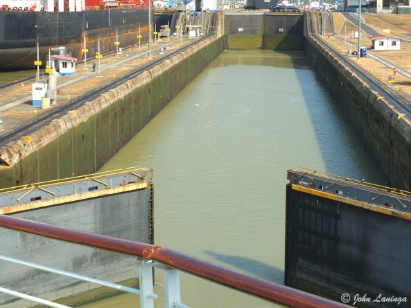 Entering the locks