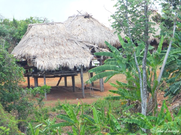 A native indian hut
