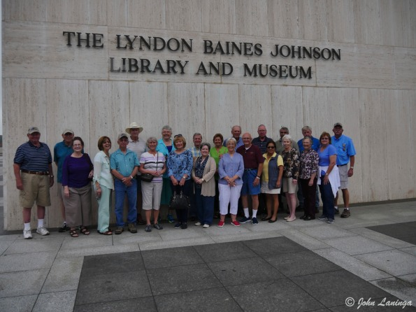 The group at the LBJ Museum
