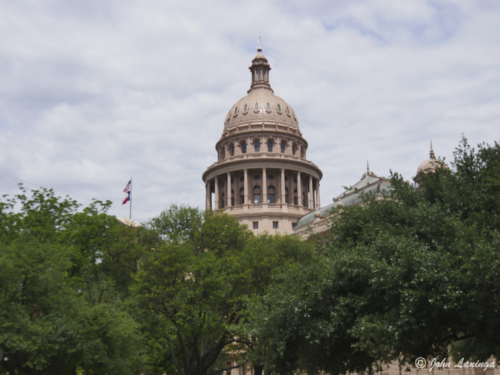 View of the Texas Capital