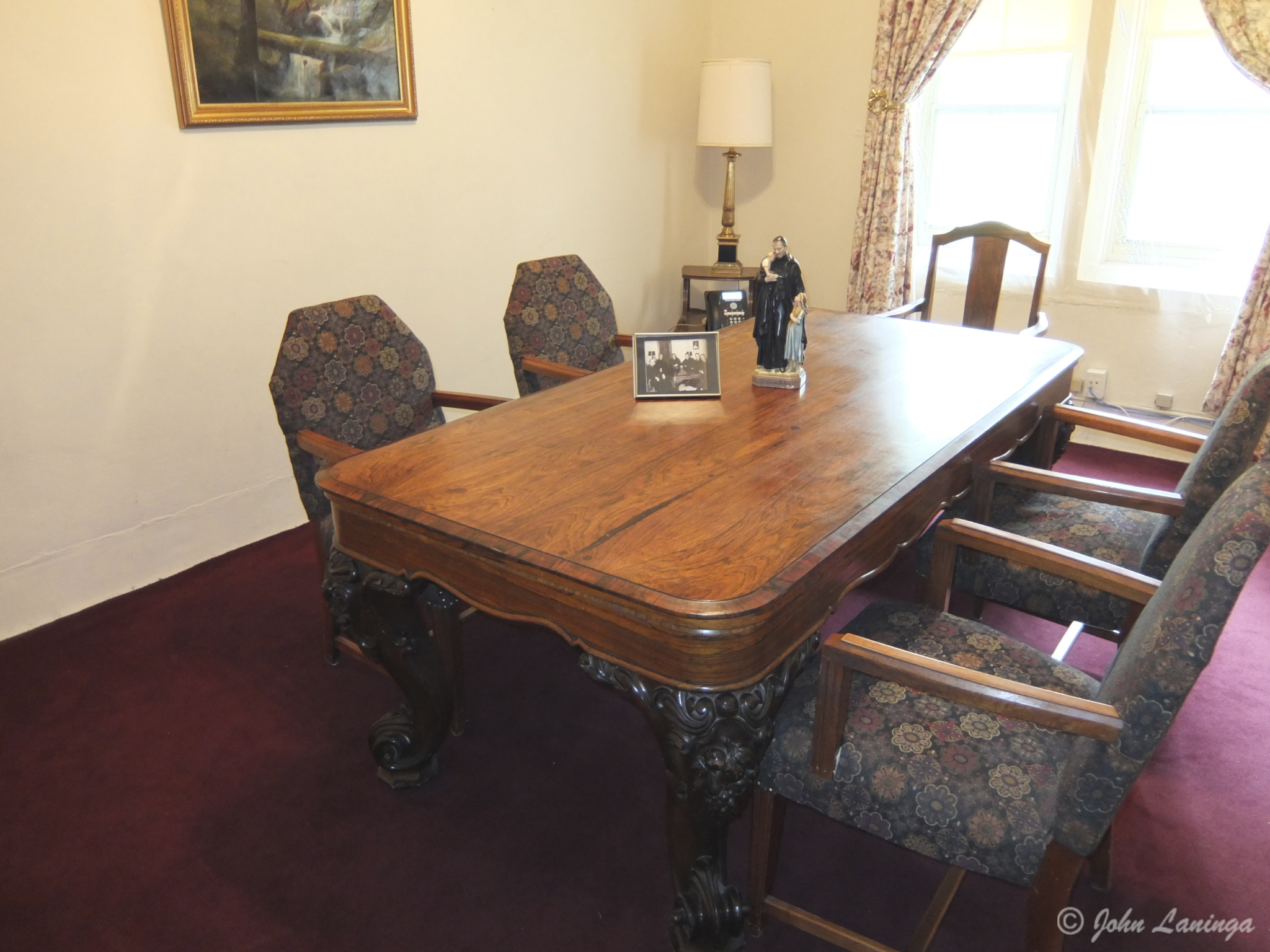 This table once was a square grand piano!