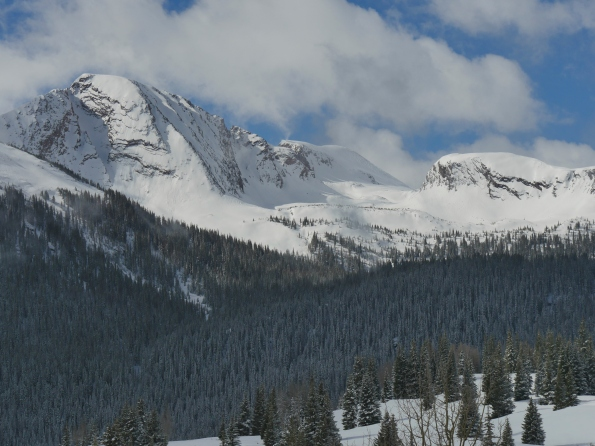 Mountains surrounding Ouray