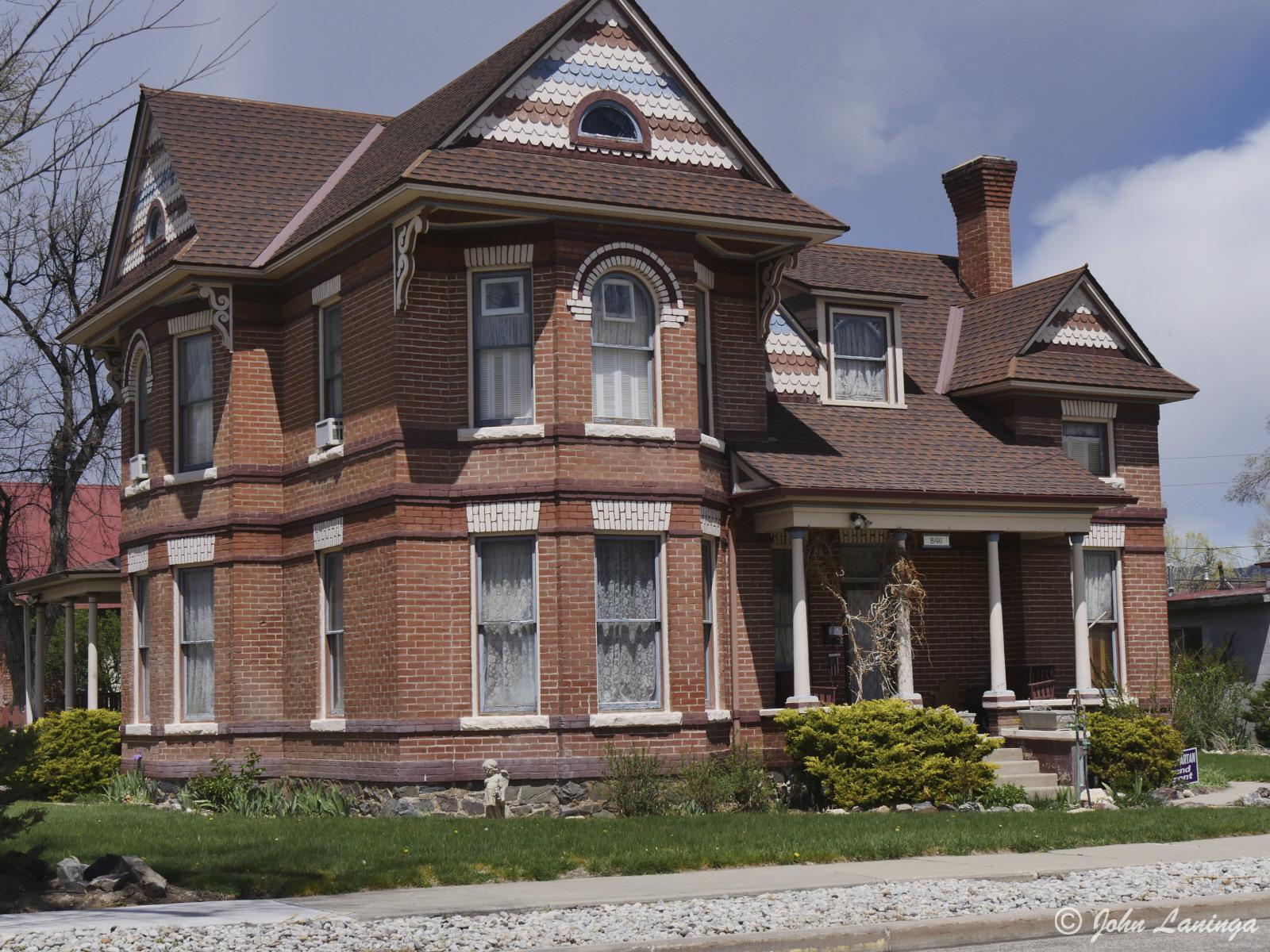 An interesting house