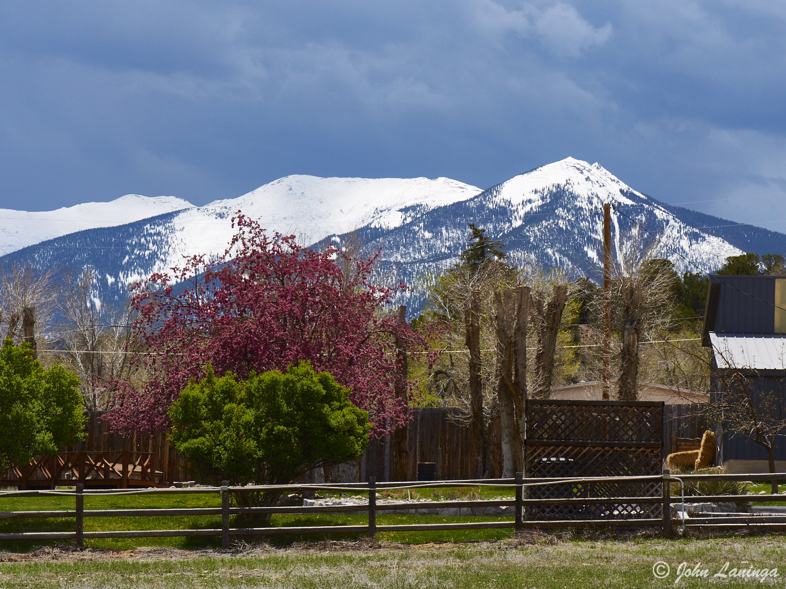 A ranch, acroos
