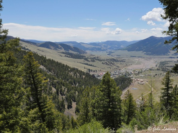 Coming back down to Creede