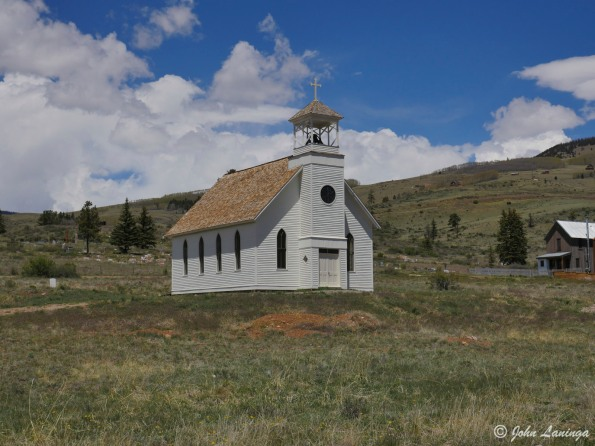 Said to be the highest church in the USA