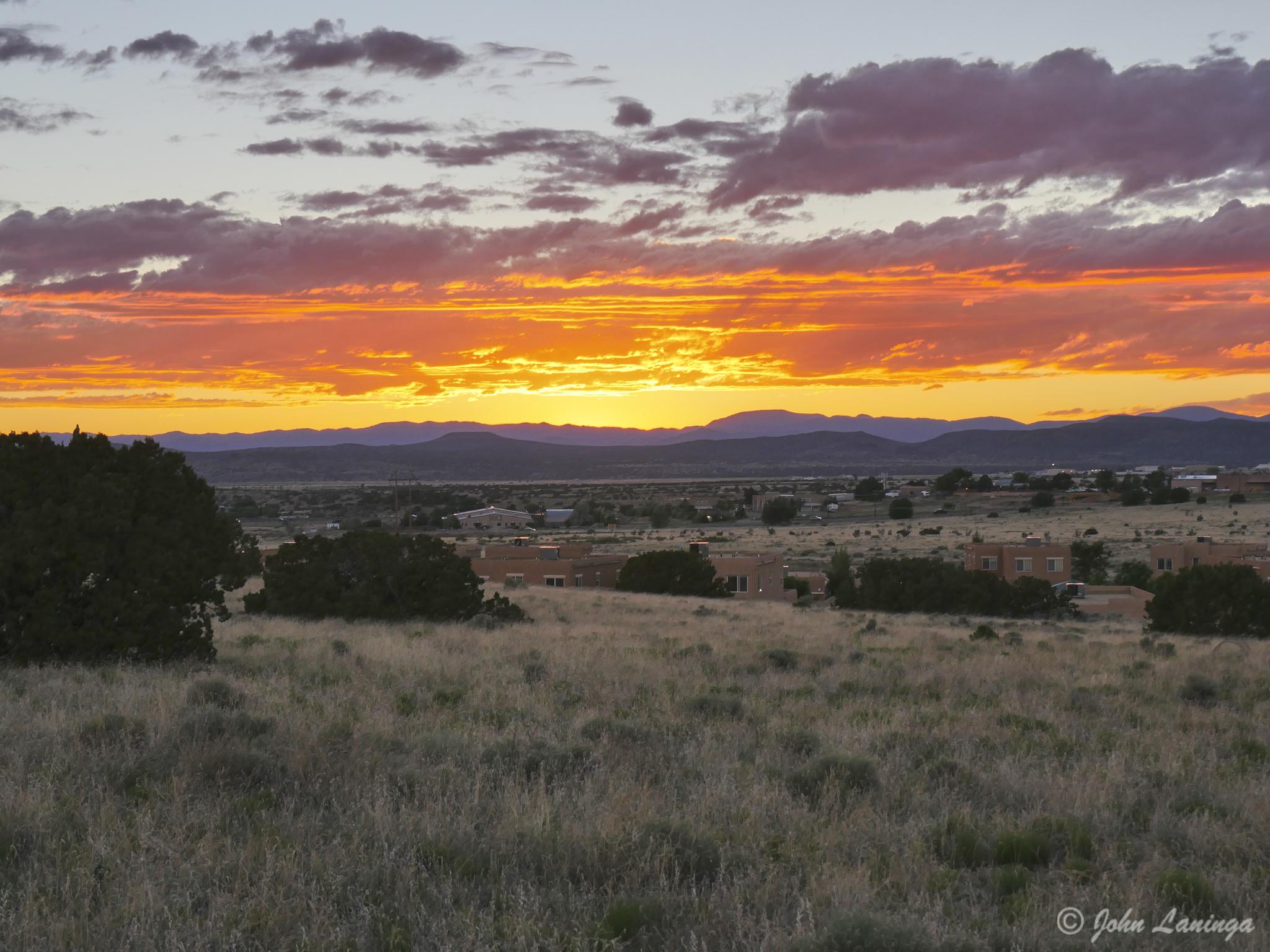 Sunup at Santa Fe