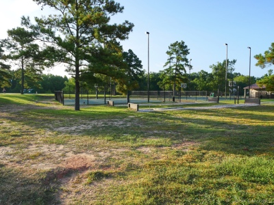 Tennis and pickelball courts