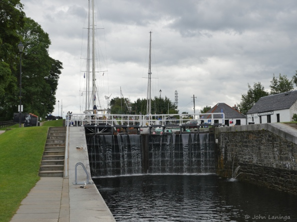One of Neptune's Staircase locks