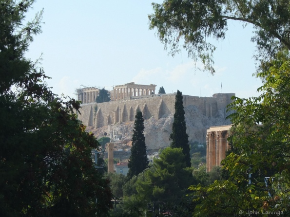 The Parthenon as viewd from the Olympic Stadium