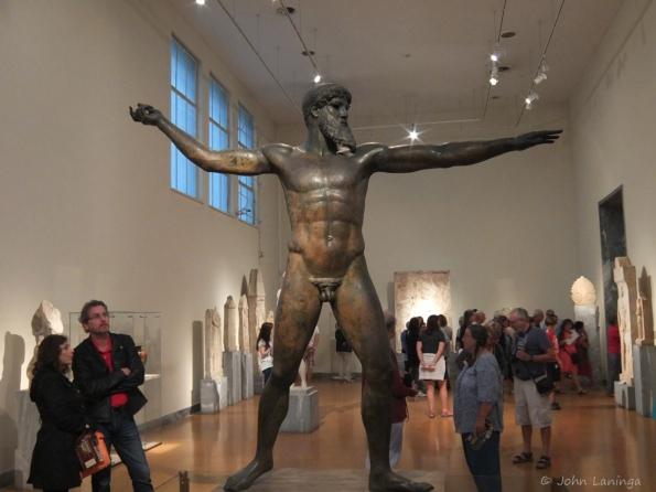 Artemision Bronze (God of the Sea), either Zeus or Poseidon
