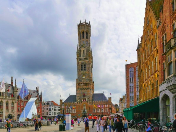 The Belfry on the Grote Markt in Brugge