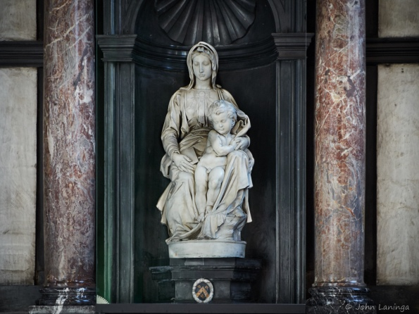 Madonna and Child, by Michelangelo
