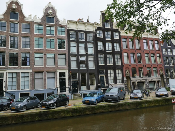 Classy buildings along the canal