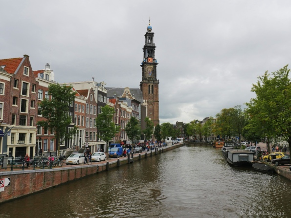 Canal, and old church