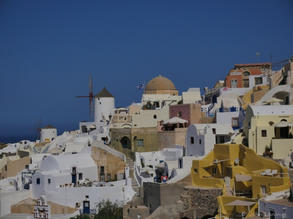 Looking towards Oia
