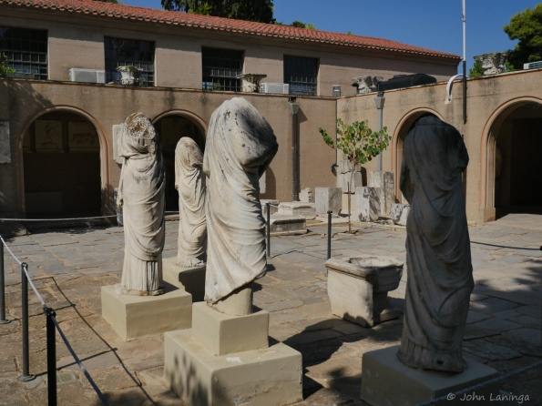 Another view of statues