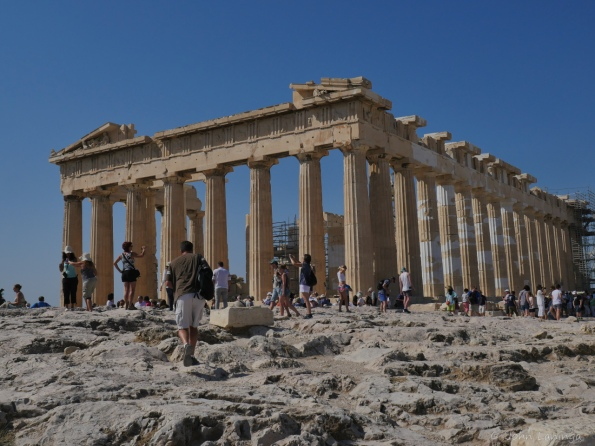 Parthenon elevation