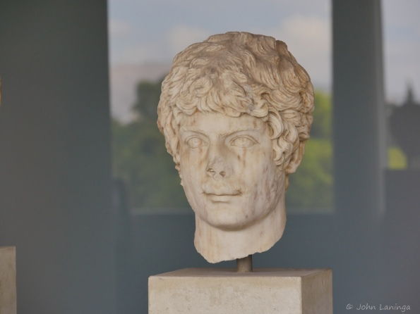 Bust of one of the residents of the Forum
