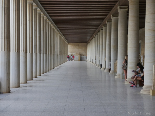 Lower colonnade of the Stoa of Attalos.