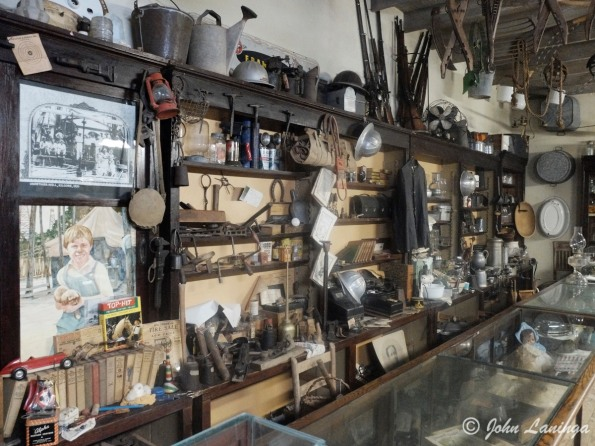 Inside a General Store