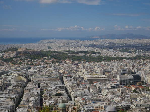 If you look real close you can find the Acropolis