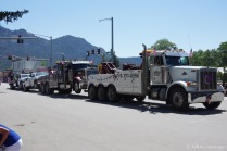 Tow truck, towing a tow truck, towing a tow truck.......