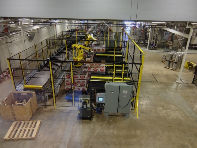 Automation moves millions of bottles