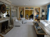 Graceland's living room