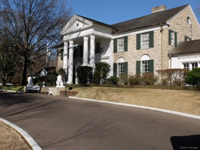 Graceland main entrance