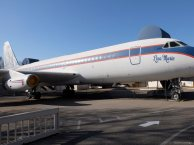 "The ""Lisa Marie"", Elvis' main airplane"