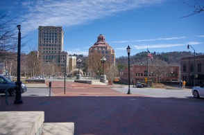Asheville, downtown