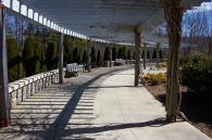 Arboretum walkway