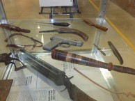 Some of the home made weapons