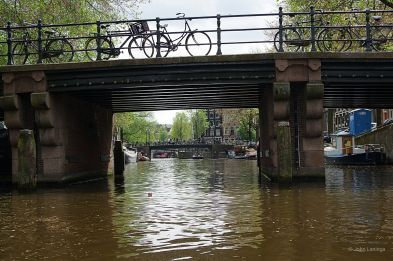 Bicycles and canals... how Dutch can you get?