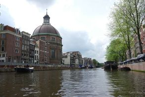 Old canals, old buildings