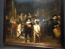"The famous ""Night Watch"" by Rembrandt"