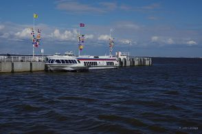 Our hydrofoil for the trip back to St. Petersburg