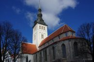 St. Olaf church, one of the oldest in Estonia