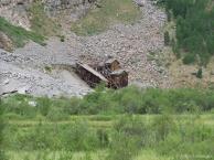 An abandoned mine
