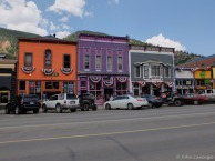 Colorful downtown Silverton