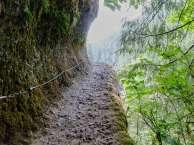 Going up gets a bit narrow