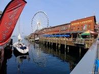 Along the pier. Now everyone needs a ferris wheel...