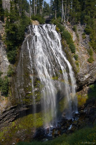 Narada Falls from the scenic overlook